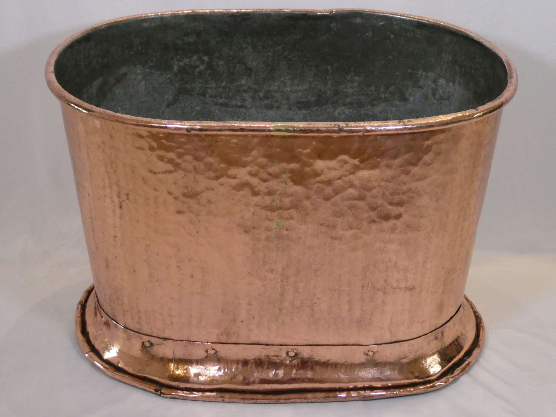 Large Copper Bath or Cistern