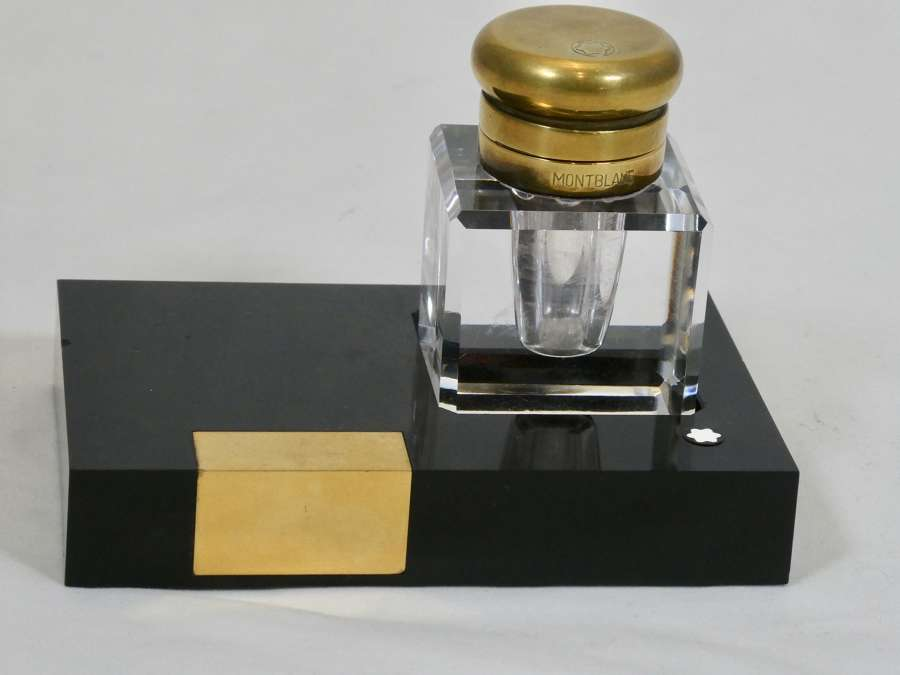 Montblanc Inkwell on Stand