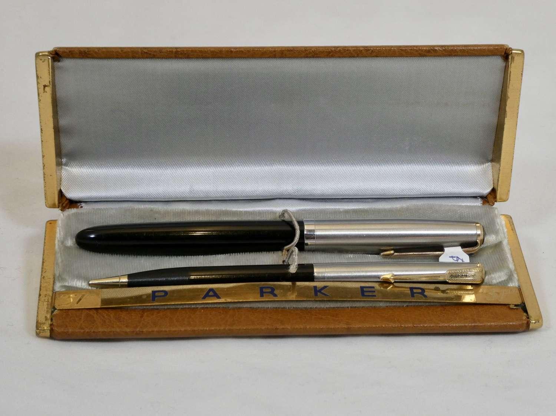 Parker 51 Vacumatic Pen and Pencil Set, 1943
