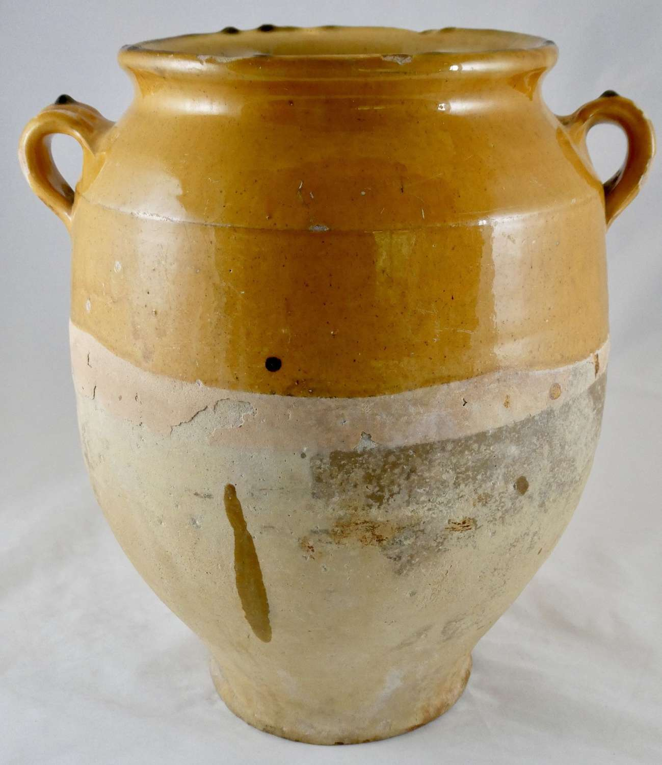 Large 19th century Confit Pot