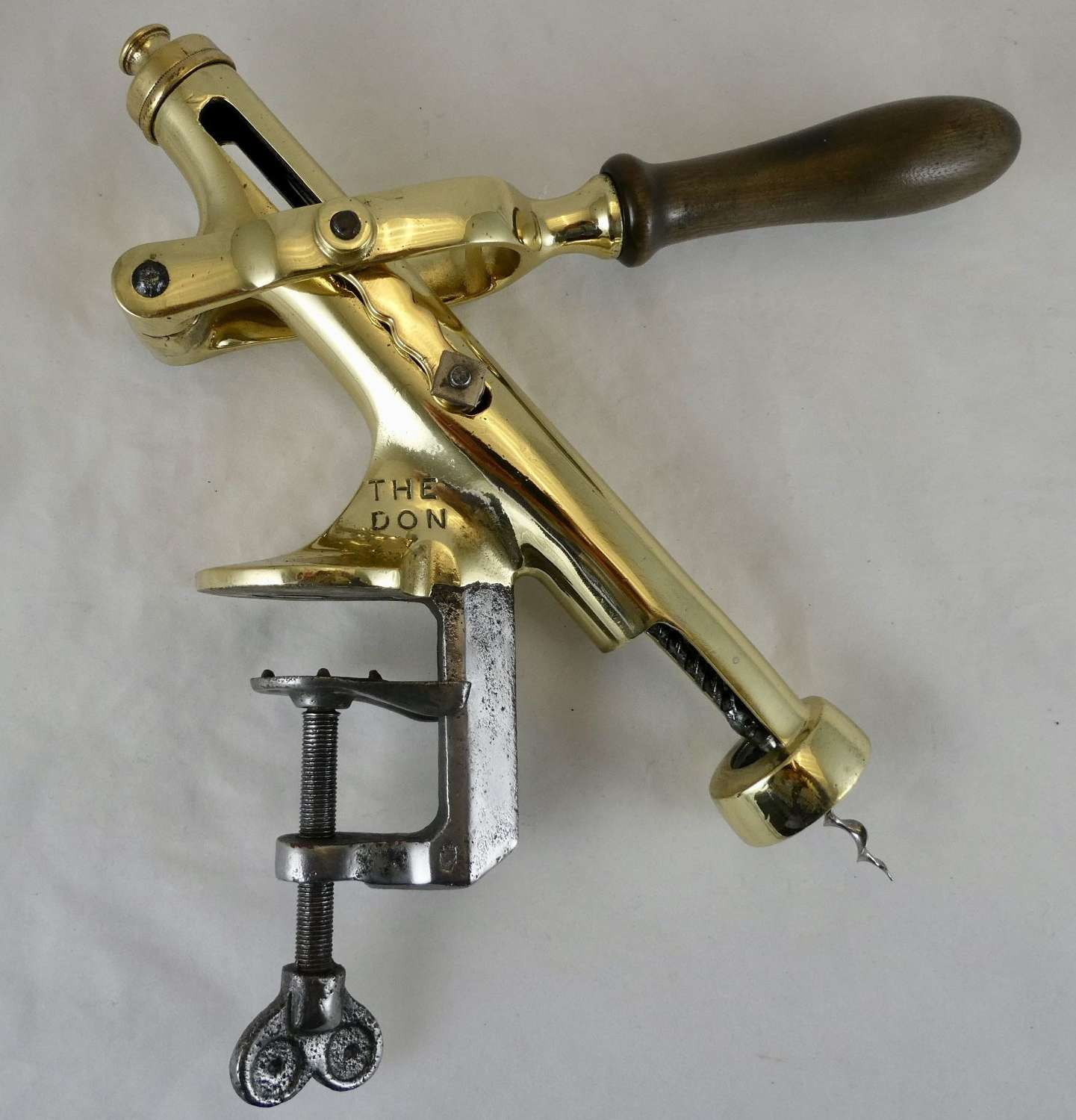 'The Don' early 20th century Bar Corkscrew