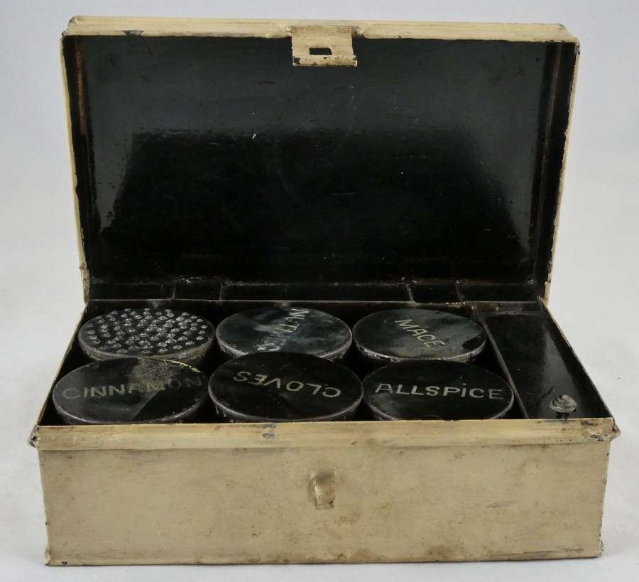 Spice Tin, circa 1900