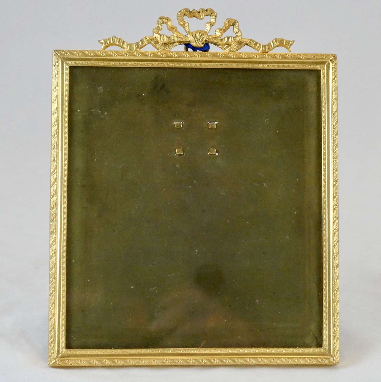 Gilded Photo Frame, Circa 1910