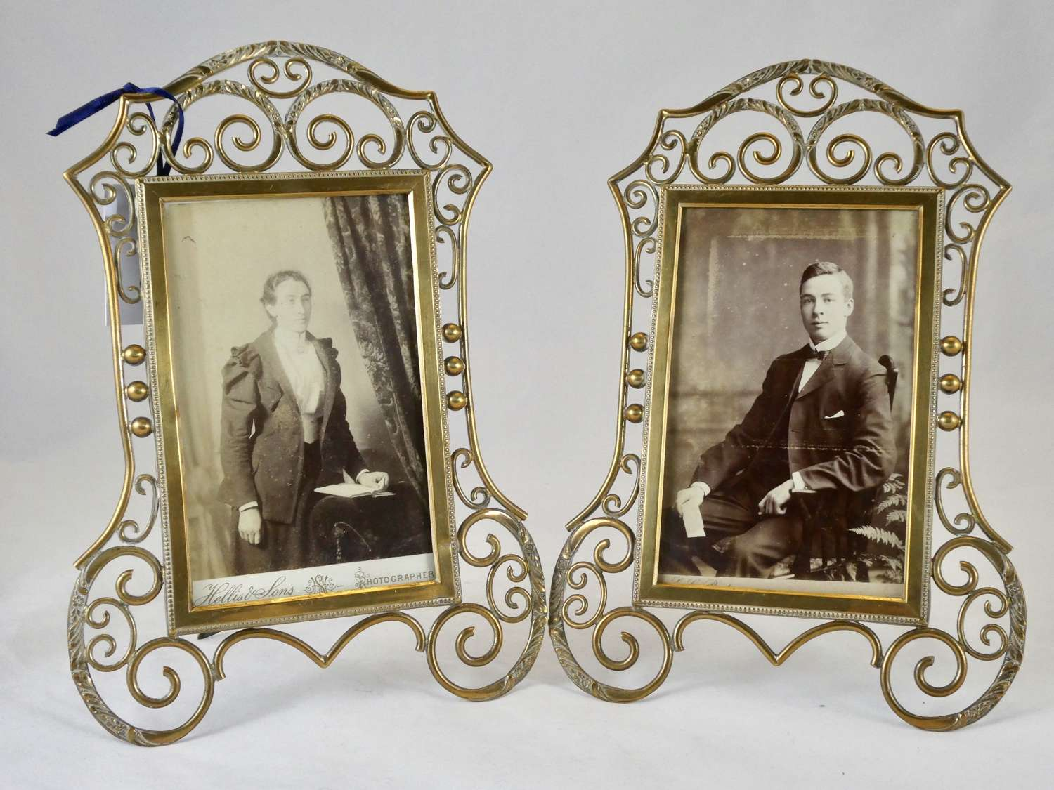 Pair of Late 19th Century Photo Frames