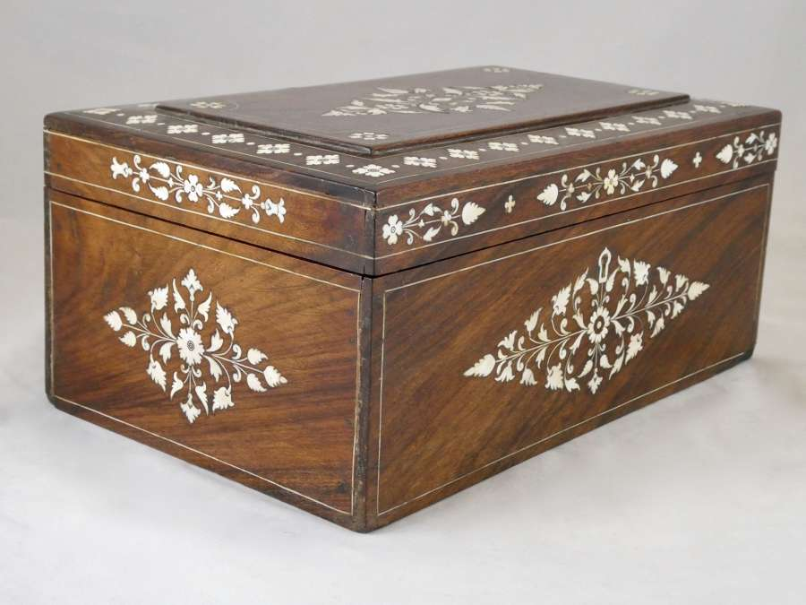 Late 19th Century Anglo-Indian Writing Box