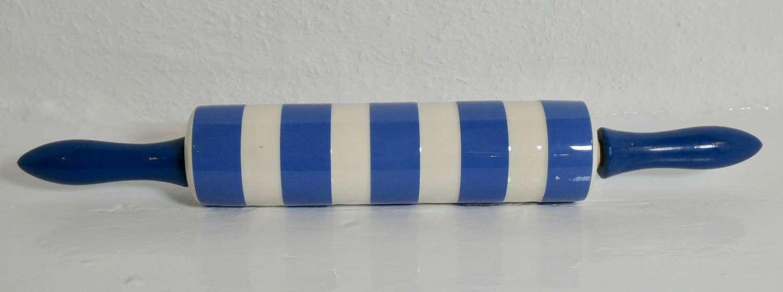 Cornishware rolling pin