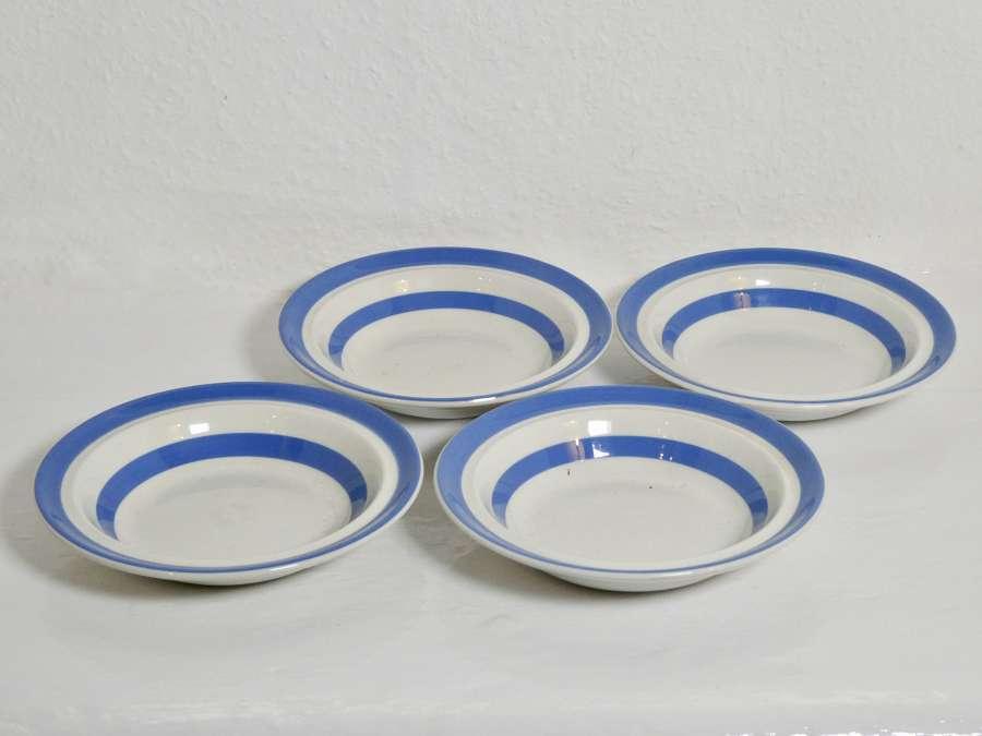 Cornishware Breakfast Bowls