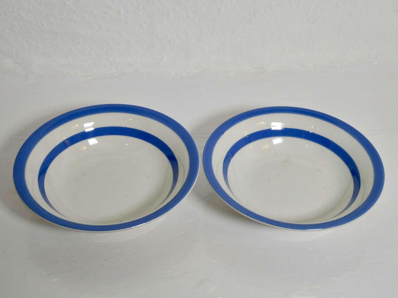 Cornishware Dessert Bowls