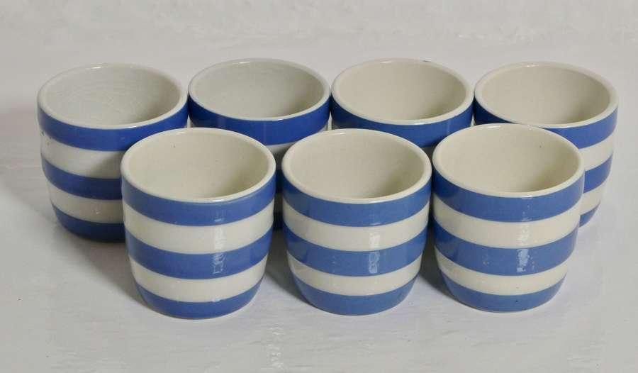 Cornishware Egg Cups