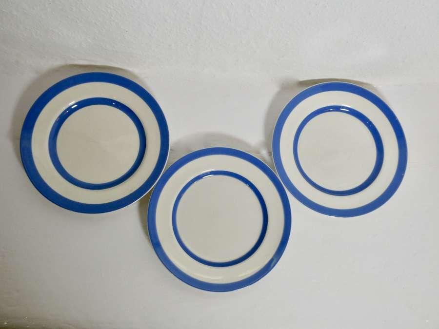 Cornishware Plates