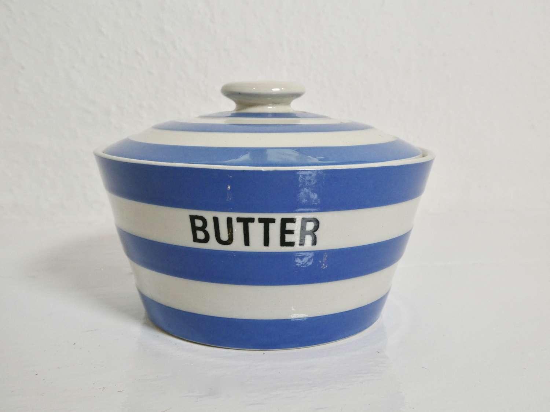 Cornishware Butter Dish
