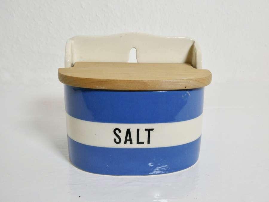 Cornishware Salt Box