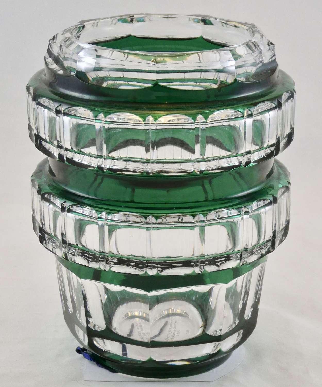 Art Deco Val St Lambert Vase by Charles Graffart