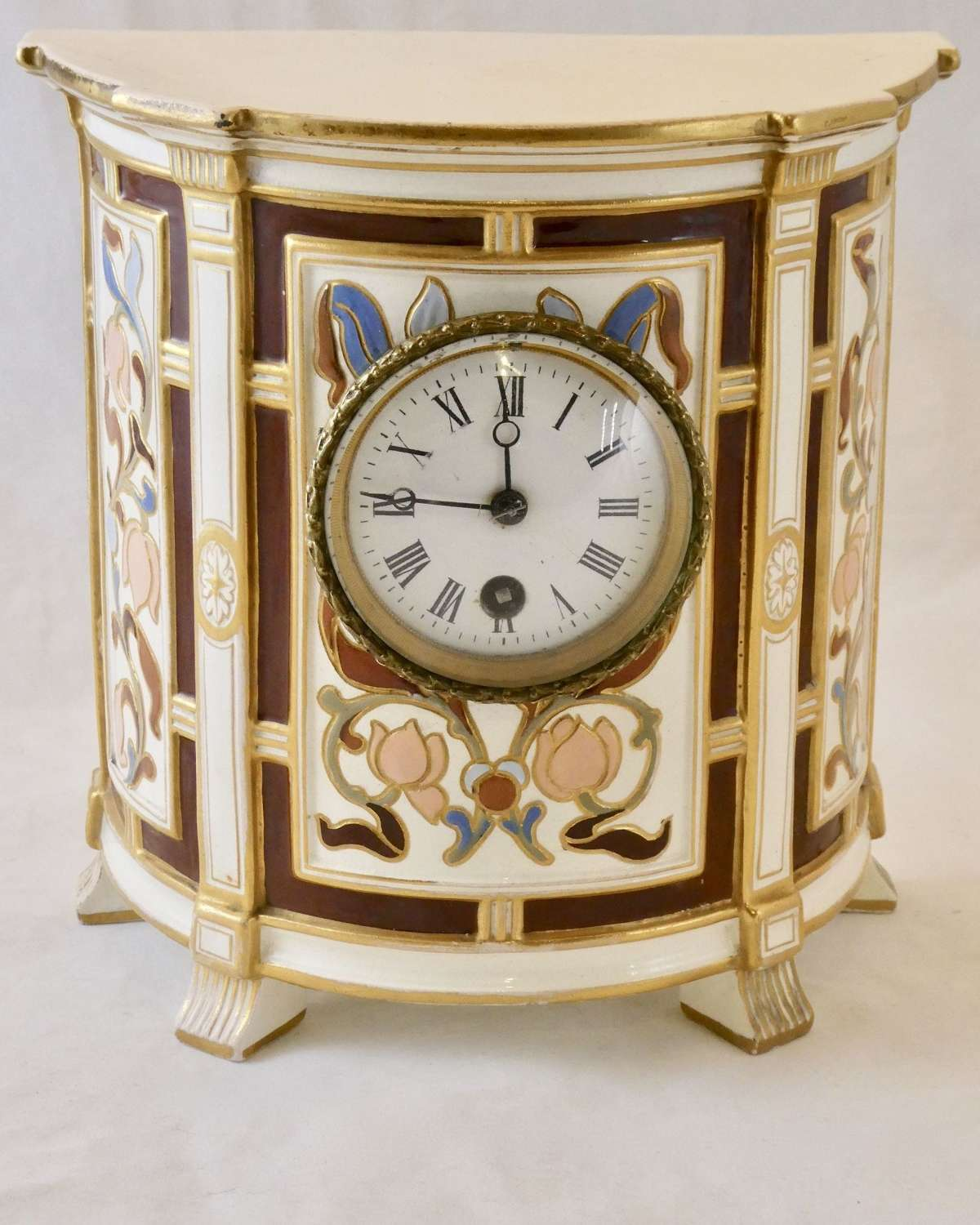 Victorian Wedgwood Cased Mantel Clock