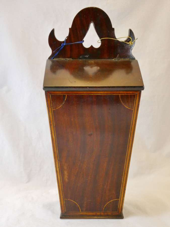 Georgian Mahogany Candlebox