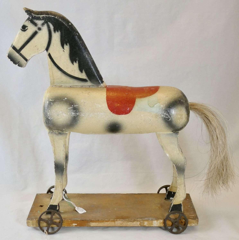 Pull-along Horse