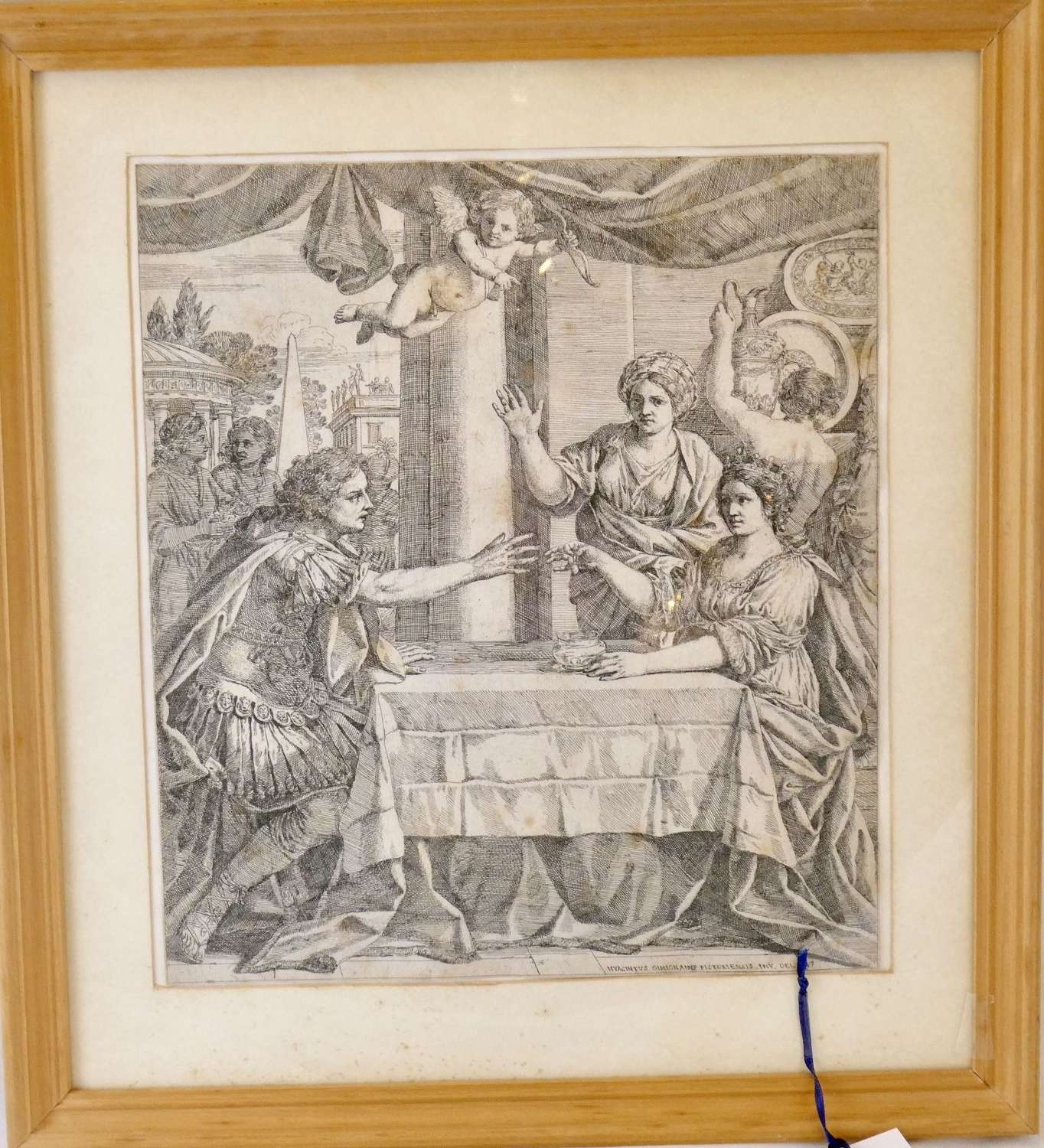 Etching dated 1647