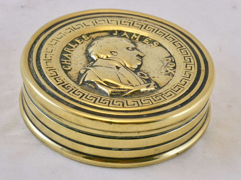 Brass Snuff Box