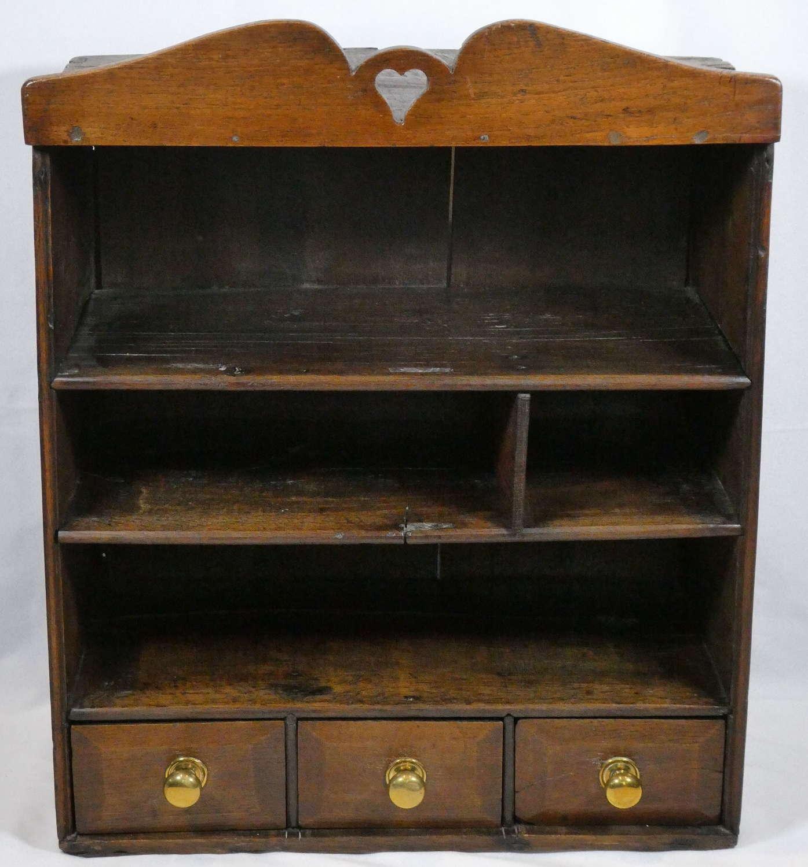 19th Century Welsh Oak Shelves