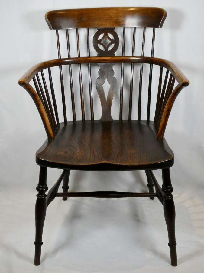 Early 19th Century Windsor Armchair