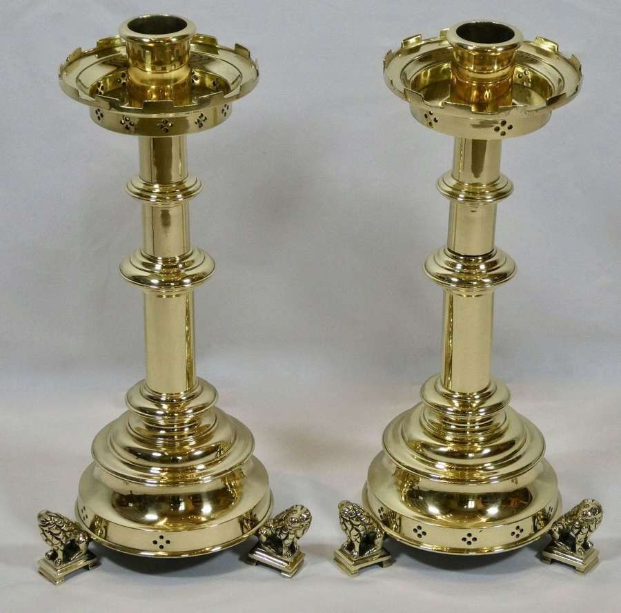 Pair of 19th Century Candlesticks