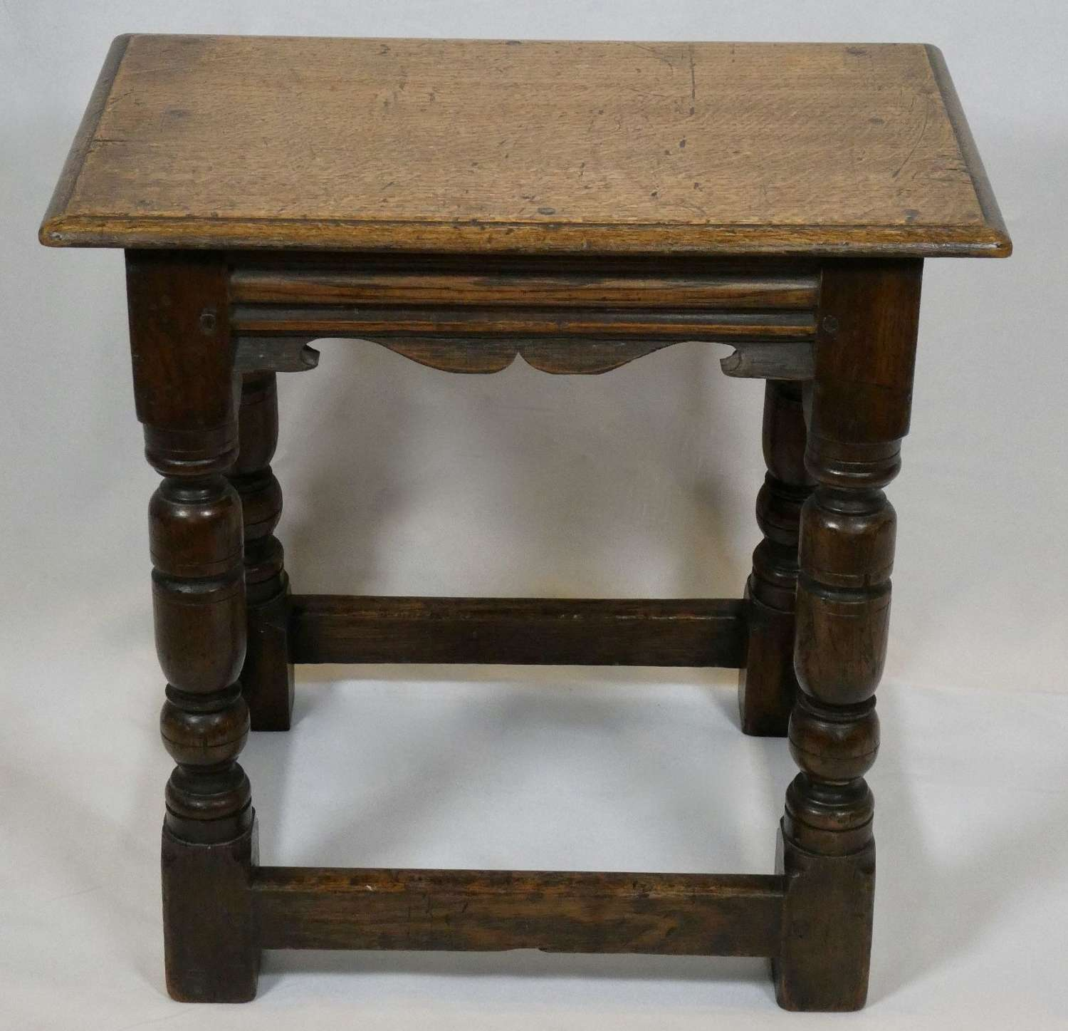 Oak Joint Stool, circa 1900