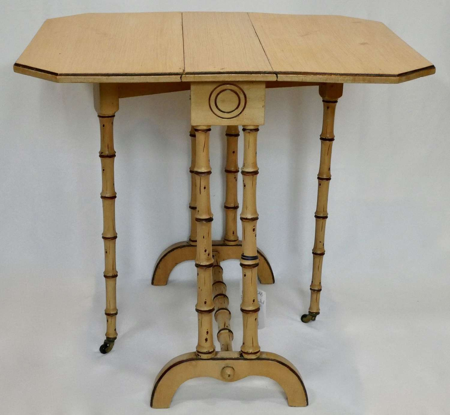 Faux Bamboo Painted Sutherland Table