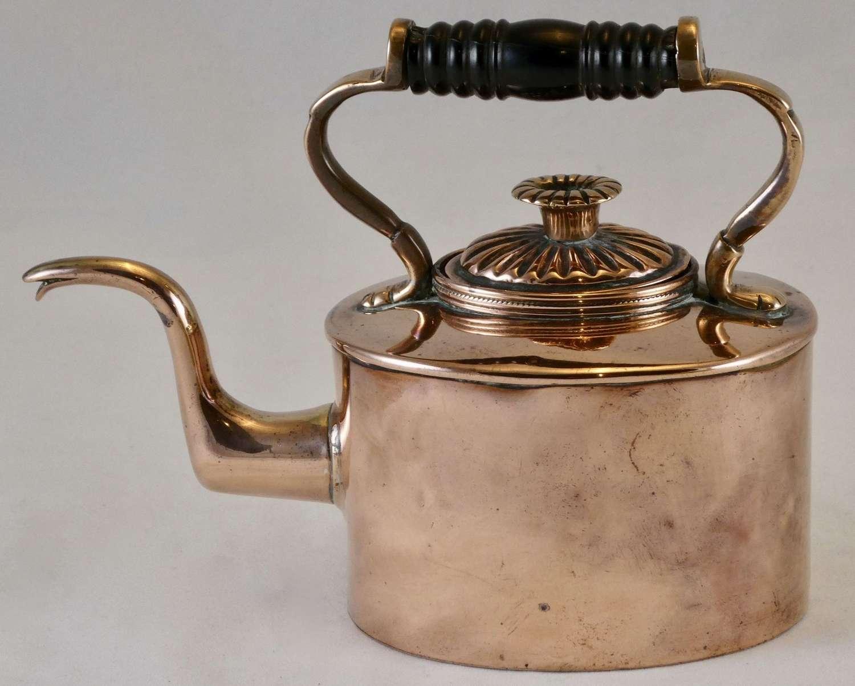 19th Century Miniature Copper Kettle