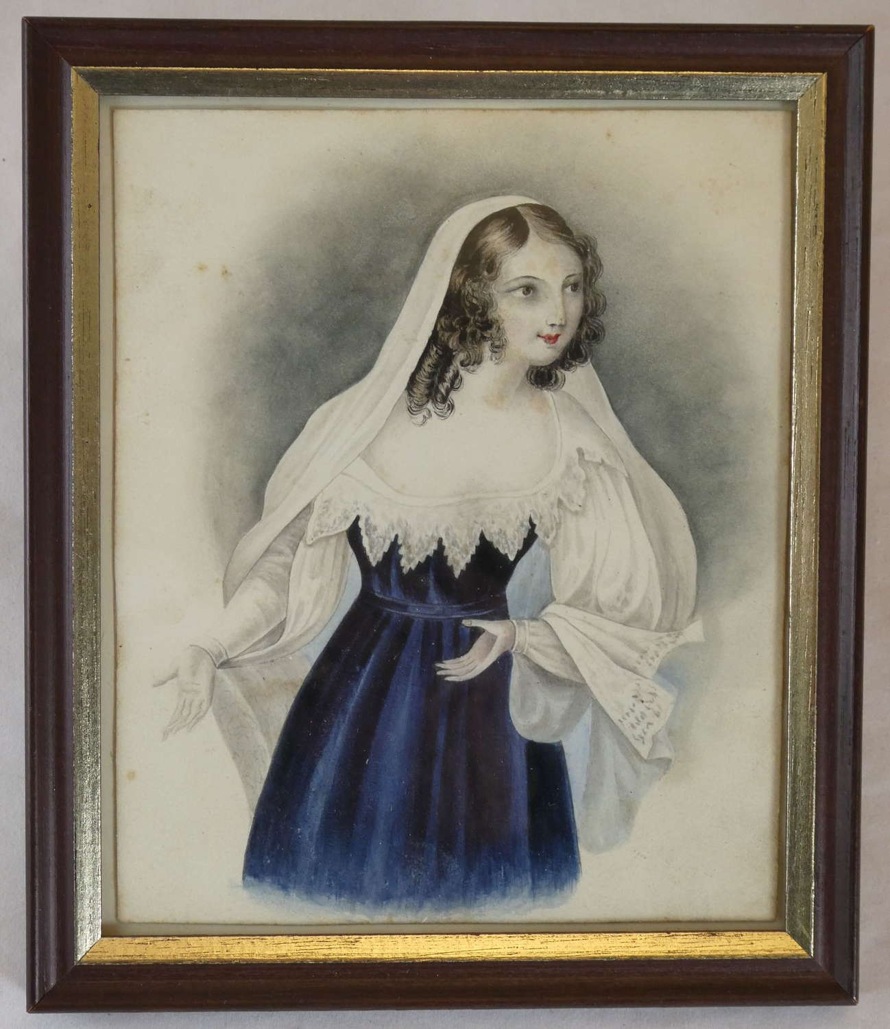 19th Century Miniature Watercolour