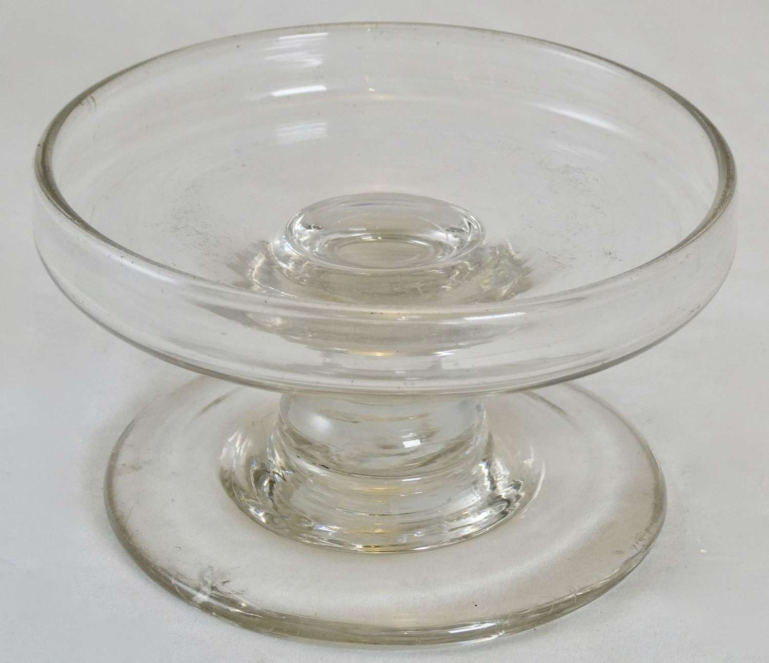 Early 19th Century Glass Patch Stand