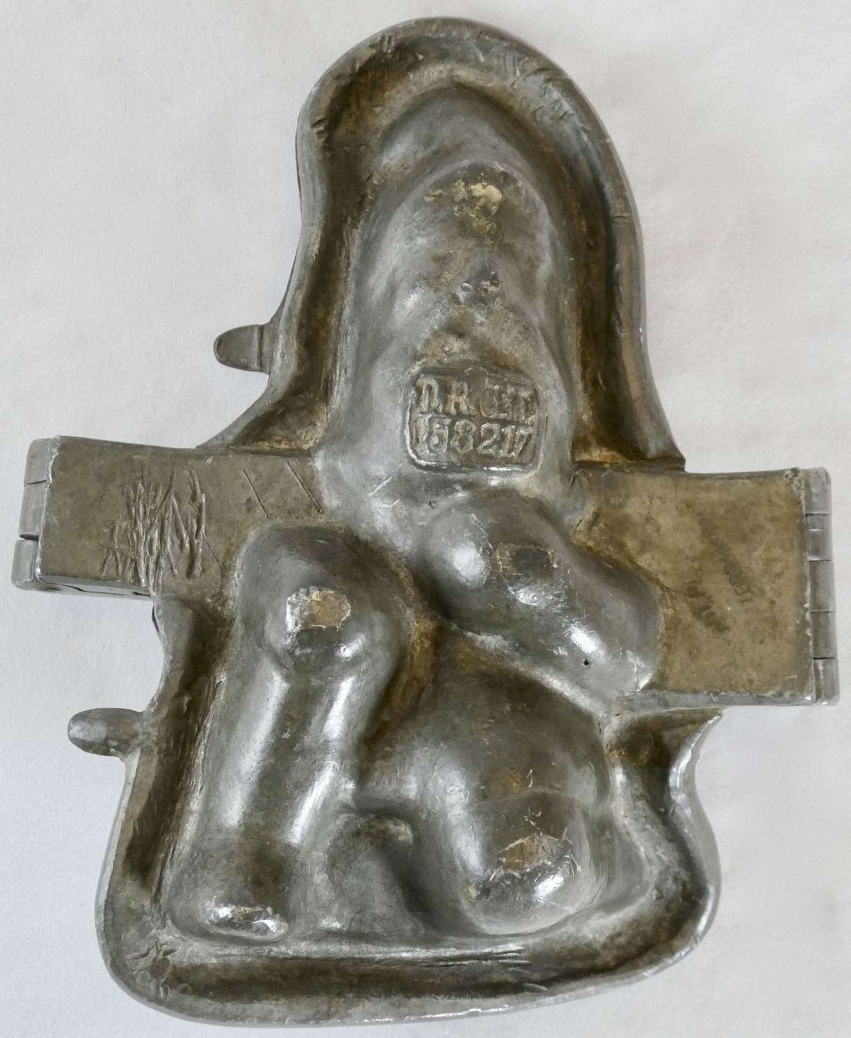 19th Century Pewter Ice Cream Mould