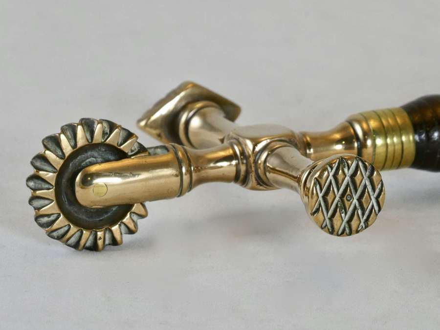 19th Century Brass 3-way Pastry Jigger