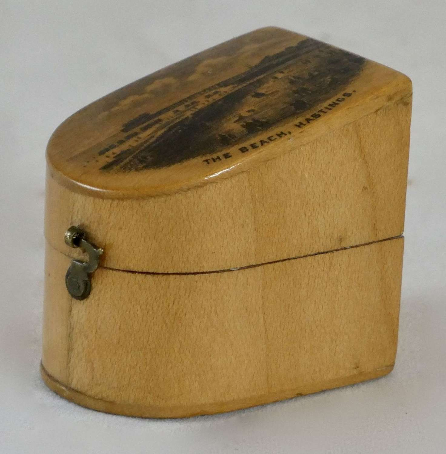 19th Century Mauchline Thimble Box