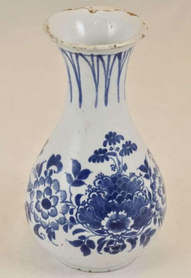 English Delft Vase