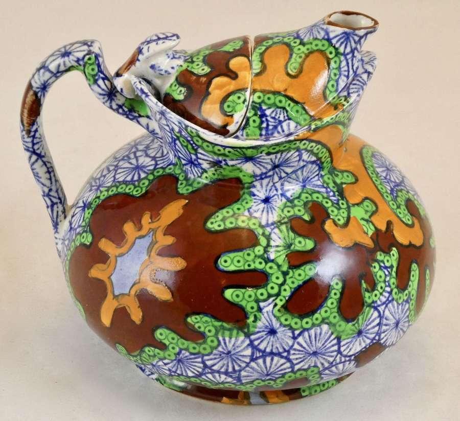 'Cosy' Teapot, Wood & Sons, circa 1922, Frederick Rhead Pattern