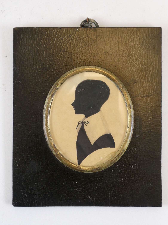 Regency Period Silhouette of George Bird