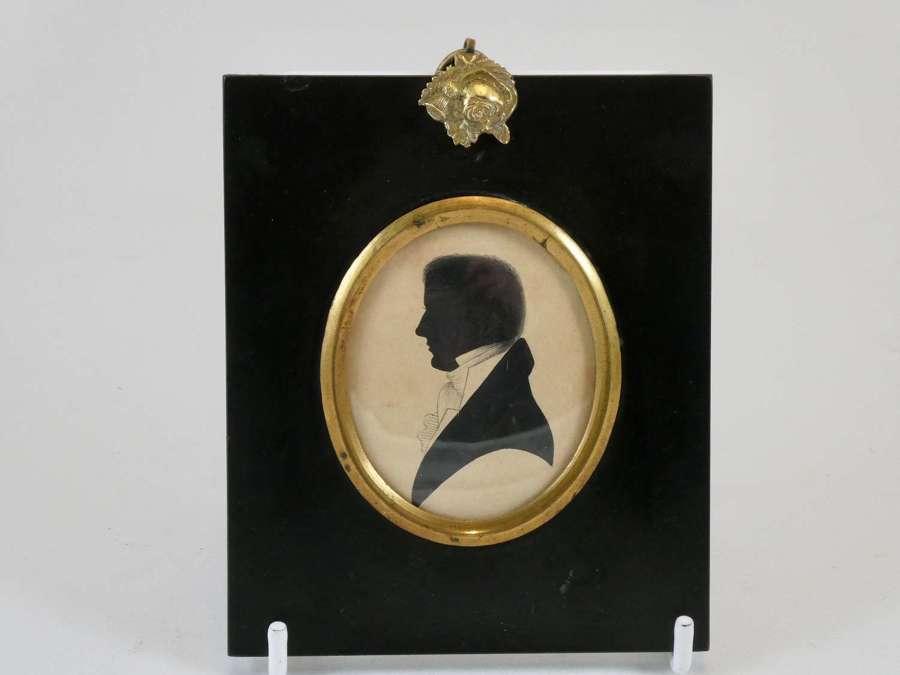 Regency Period Silhouette of C. Priestley