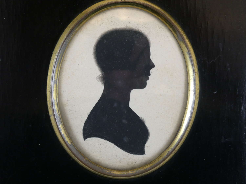 Regency Period Silhouette of Mary Binyham