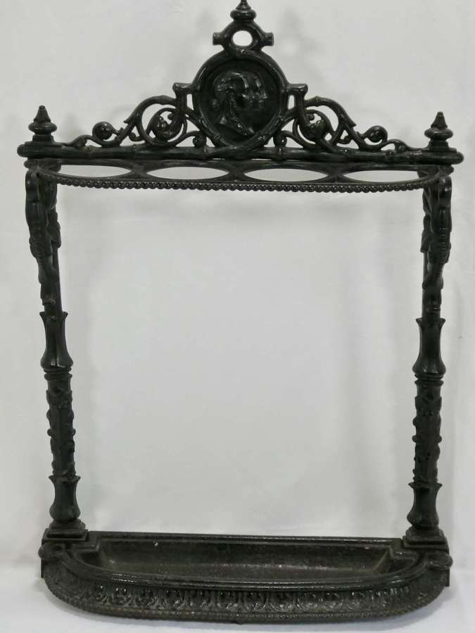 19th Century Coalbrookdale Cast Iron Stick Stand