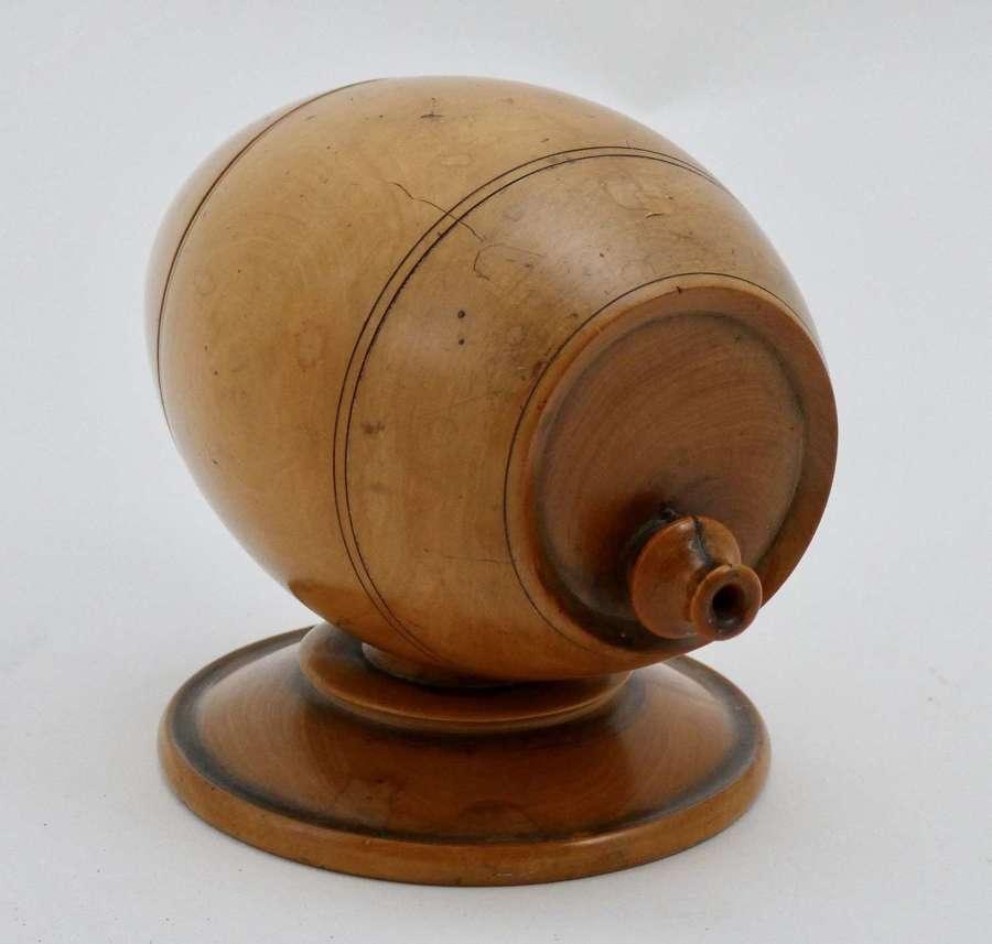 Boxwood String Barrel, circa 1880