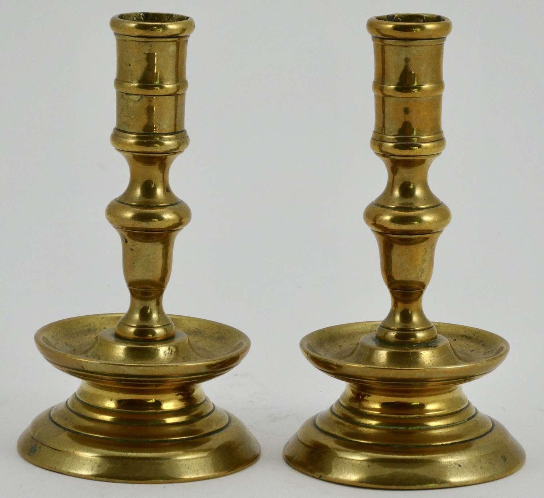 Pair of 19th Century Taper Sticks