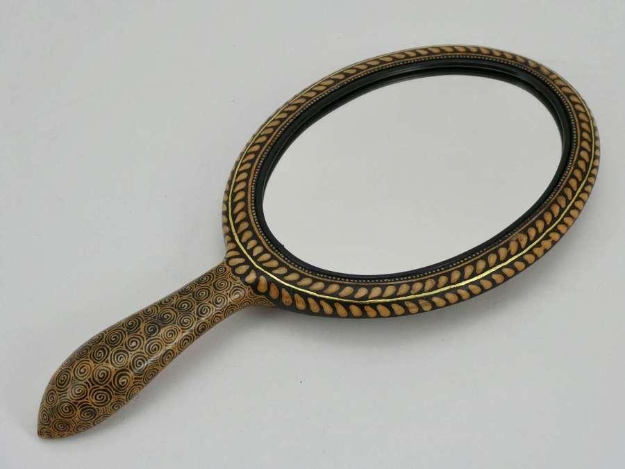 Arts & Crafts Hand Mirror