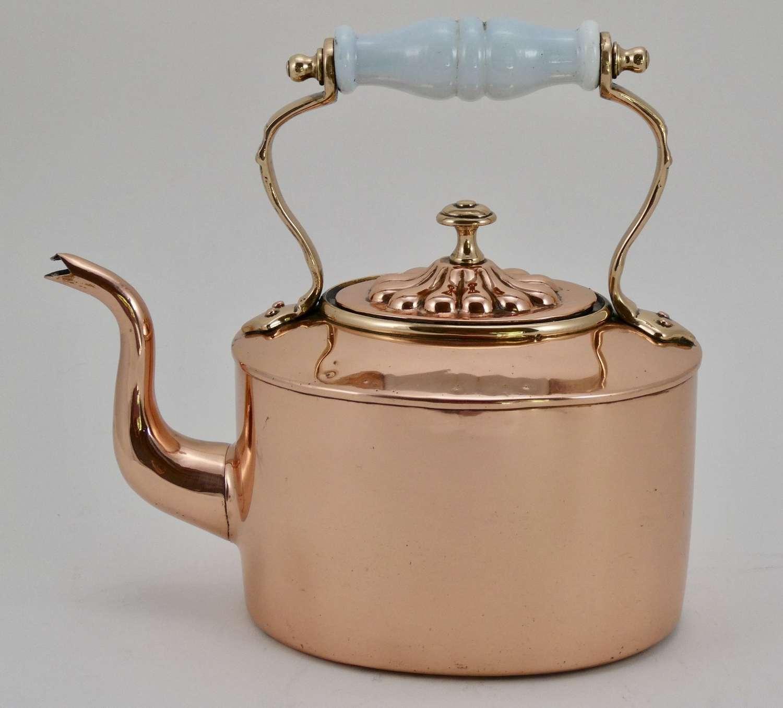 Victorian Copper Kettle, circa 1870