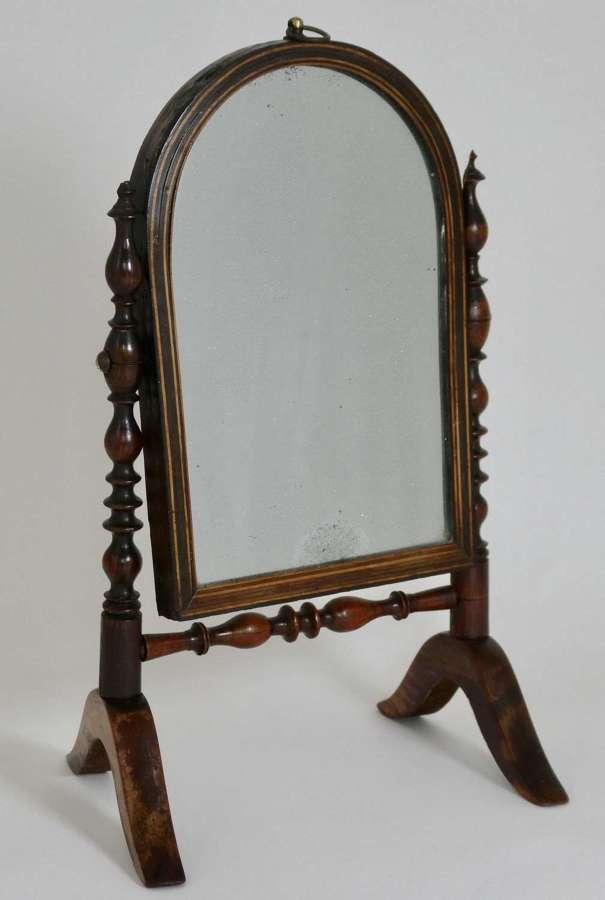 Early 19th Century Swing Mirror