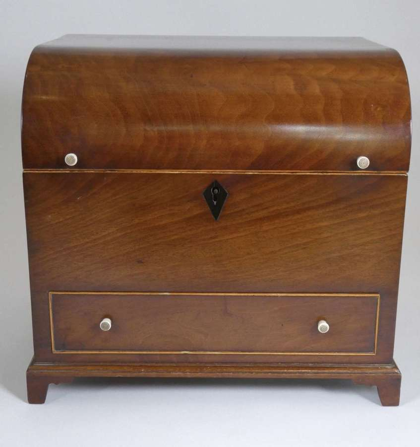 19th Century Domed Top Stationery Box