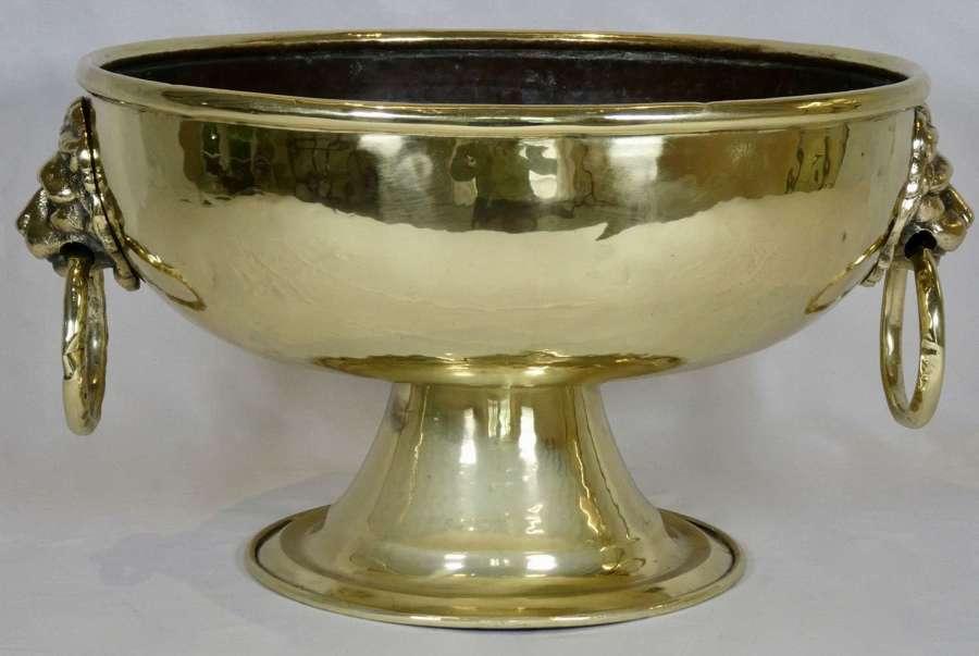 19th Century Brass Jardinière