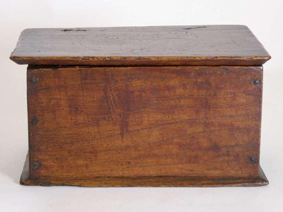 William & Mary Elm Box