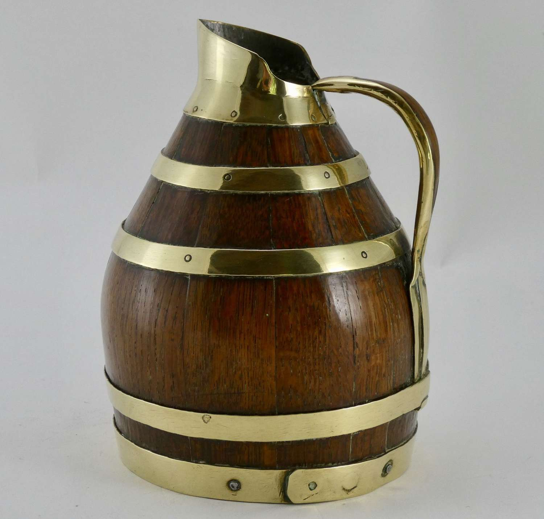 Coopered Cider Jug circa 1900